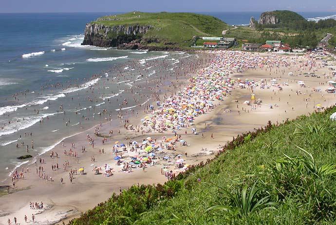 torres beira da praia - Diminui número de pontos impróprios para banho no Rio Grande do Sul