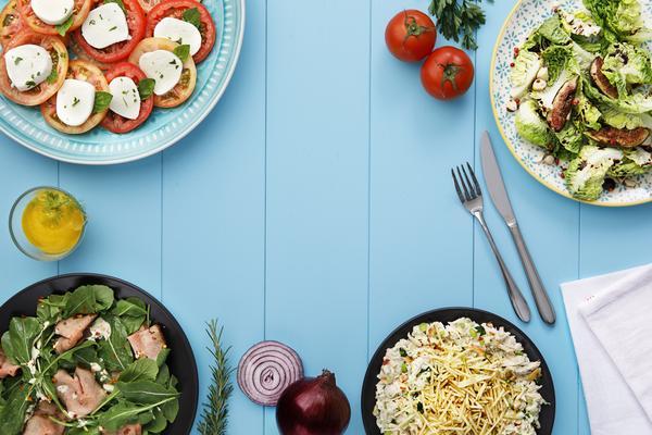 viena lanA a 12 novas receitas de saladas web  - Viena Express oferece saladas que valem por uma refeição