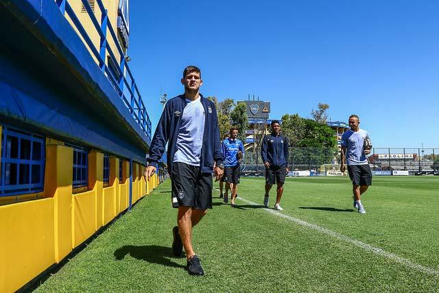 40251939151 594d0c1f67 z - Grêmio treina noComplexo Pedro Pompilio, em La Boca