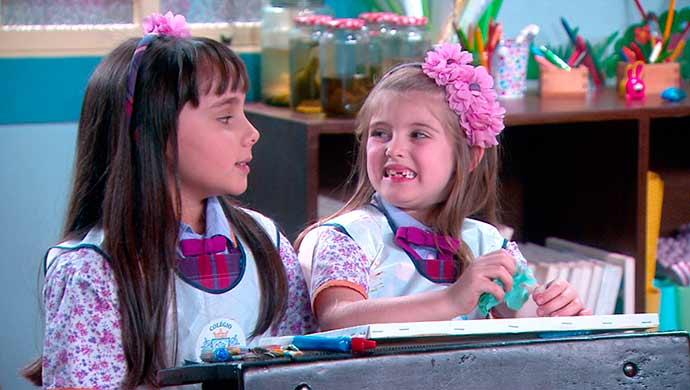 Frida e Dulce 01 - Carinha de Anjo - Resumo dos Capítulos 321 a 325 (12.02 a 16.02)