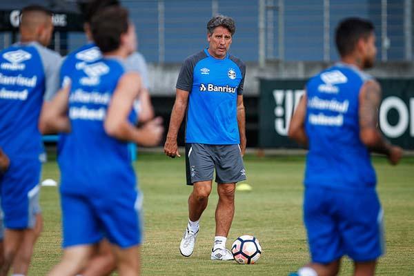 Grêmio Recopa 3 - GRÊMIO INICIA PREPARAÇÃO PARA FINAL DA RECOPA SUL-AMERICANA