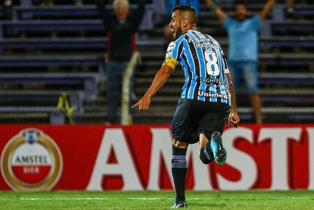 Grêmio estreia na Libertadores 2018  - Jogando em Montevidéu Grêmio estreia com empate na Libertadores