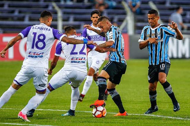Grêmio estreia na Libertadores 2018 4 - Jogando em Montevidéu Grêmio estreia com empate na Libertadores