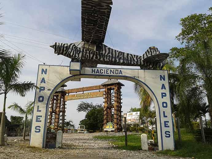 Hacienda Nápoles - Inspire-se nestas séries para viajar