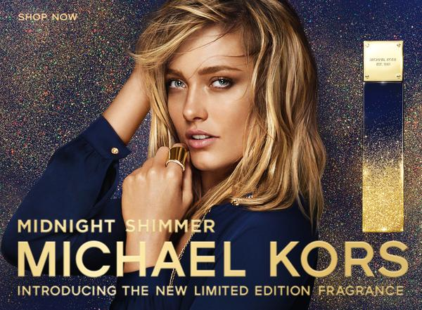 Michael Kors Midnight Shimmer - Nova fragrância Michael Kors Midnight Shimmer