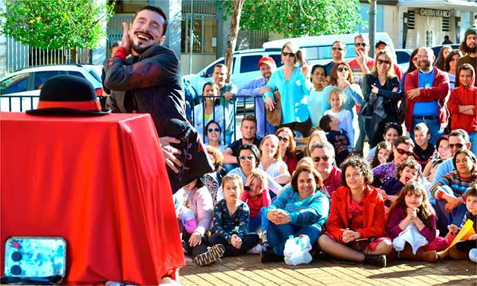O Teatro de Caixa FOTO Alexandre Oguido - O Teatro de Caixa em Porto Alegre