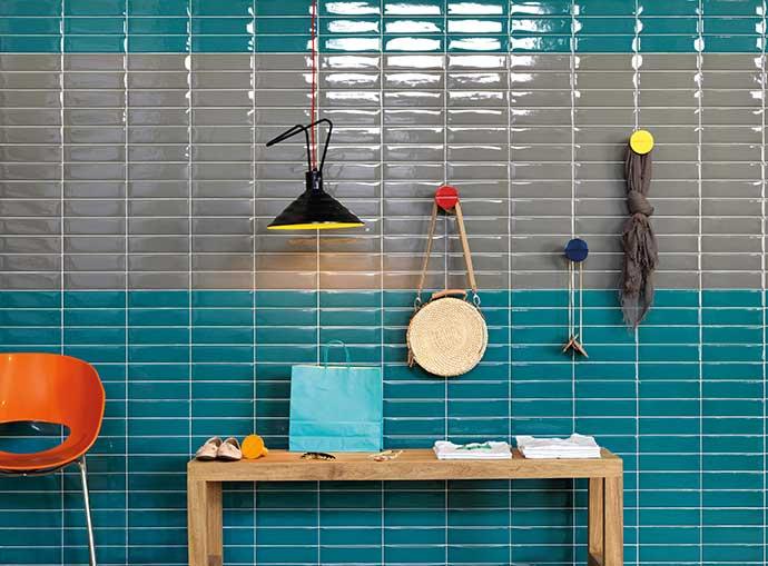 Portobello pbl amb liverpool vert armee 07x24 liverpool bleu st tropez  8891 - Revestimentos coloridos para o verão