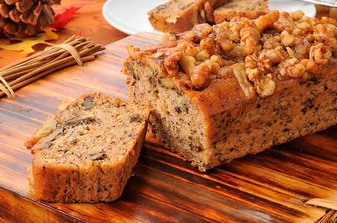 Rum Banana Bread Recipe 1 - Delícias ao redor do mundo