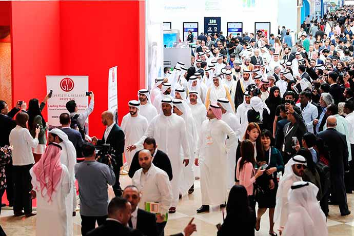 arab health feira   foto divulgacao arab health 2018  2  - Empresas gaúchas apresentam produtos em feiras internacionais