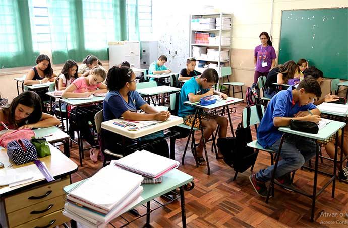 aulas esteio2 - Alunos do Ensino Fundamental retornam às aulas em Esteio