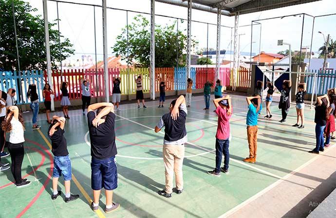 aulas esteio5 - Alunos do Ensino Fundamental retornam às aulas em Esteio