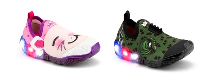 bibi - Bibi investe em calçados lúdicos e com luz para atrair a garotada