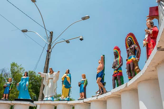 canoas - Canoas inaugura o primeiro Santuário Sincrético do Brasil