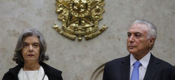 carmen temer - Cármen Lúcia cobra respeito às decisões do Judiciário