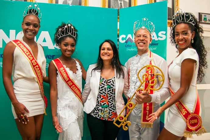 carnaval canoas - Entrega da chave da cidade marca início do carnaval em Canoas
