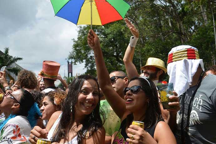 carnaval rua sp1 - Blocos de Alceu Valença e Elba Ramalho reúnem multidão em São Paulo