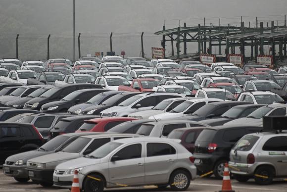 carros patio montadora sao bernargo sp1 marcelo camargo - Produção de veículos cresce 24,6% em janeiro em relação a igual período de 2017