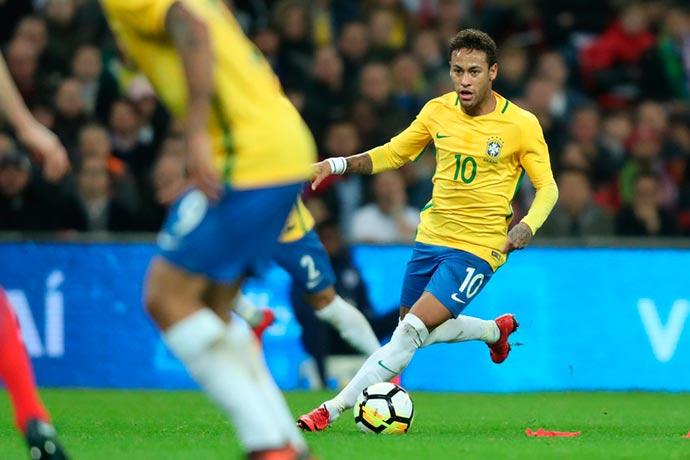 neymar jr - CBF adia convocação da seleção para amistosos contra Rússia e Alemanha