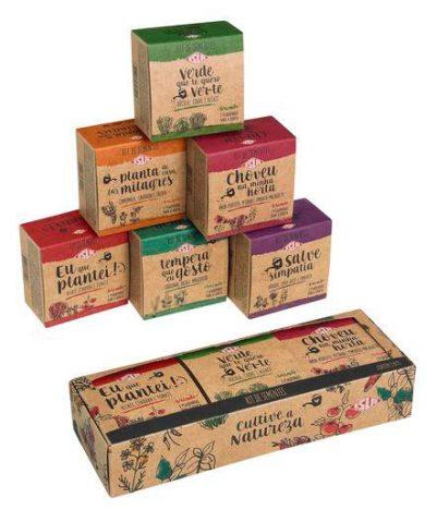 Eu Que Plantei'3 401x468 - Isla cria kits de sementes para quem quer ter uma horta em casa