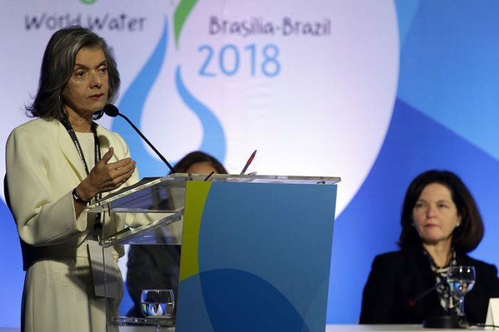 """1112837 antcrz abr 1903180146 1 700x466 - """"Temos sede de justiça para todos"""", afirma Raquel Dodge no Fórum Mundial da Água"""