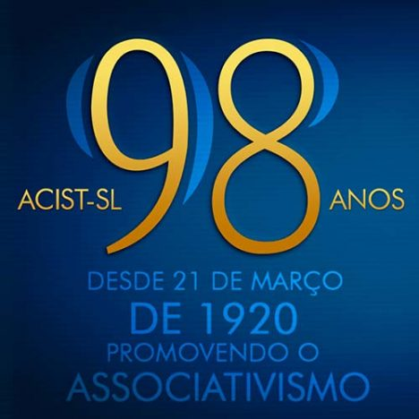 98 acistsl 468x468 - ACIST-SL completa 98 anos