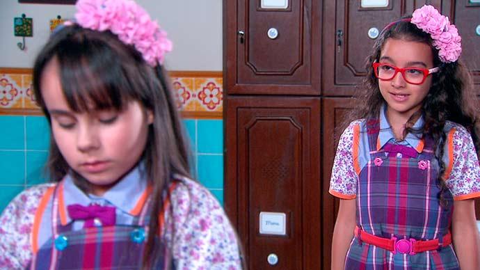 Bárbara pede perdão para Frida 01 - Carinha de Anjo - Resumo dos Capítulos 341 a 345 (12.03 a 16.03)
