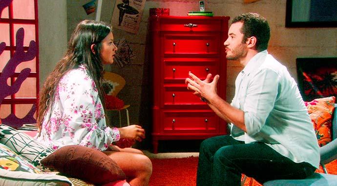 Vitor conversa com CAssandra sobre gravidez 05 - Carinha de Anjo - Resumo dos Capítulos 341 a 345 (12.03 a 16.03)