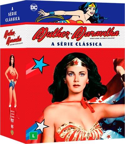 mulher maravilha - Séries clássicas do Batman e Mulher-Maravilha acabam de ser lançadas