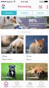 Aplicativo ajuda a encontrar animais que fugiram de casa - Aplicativo ajuda a encontrar animais que fugiram de casa