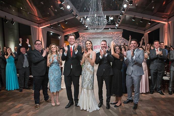 """Fabrica de Casamentos 185 - """"Fábrica de Casamentos"""" deste sábado (21) terá bolo réplica do vestido de noiva"""