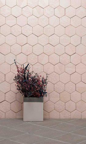 Hexágono Patchwork Blanc 281x468 - Lepri Cerâmicas apresenta tendências que inspiraram sua coleção 2018