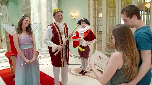 """Notícia aos noivos 01 - """"Fábrica de Casamentos"""" deste sábado (21) terá bolo réplica do vestido de noiva"""