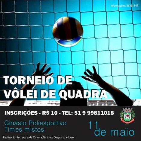 TORNEIO DE VOLEI 469x468 - Goleada no Municipal de Futebol de Campo