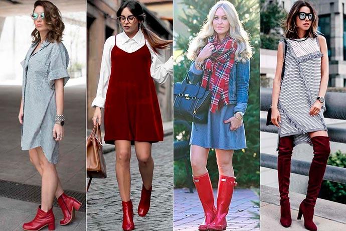 botas vermelhas4 - Bota vermelha em alta neste inverno