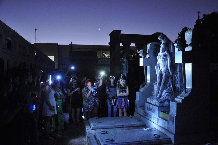 caminhada cemiterio 2017 700x465 - Santa Casa promove caminhada cultural em cemitérios na sexta-feira 13
