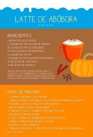 latte3 319x468 - Receita Latte de abóbora
