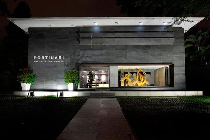 portinari - Portinari ganha vitrine assinada por Jóia Bergamo