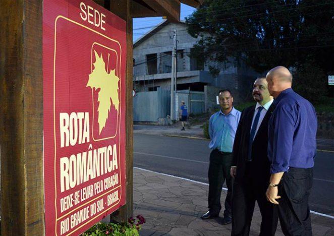 rota romantica embratur1 662x468 - Rota Romântica recebe diretor de marketing da Embratur