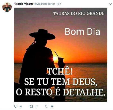 vidarte twitter 484x468 - Jornalista esportivo Ricardo Vidarte morre após mal súbito