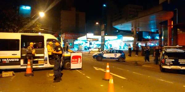 Balada Segura Das 56 abordagens 13 identificaram motoristas alcoolizados 1  - 23% dos condutores abordados em Caxias do Sul no fim de semana estavam embriagados