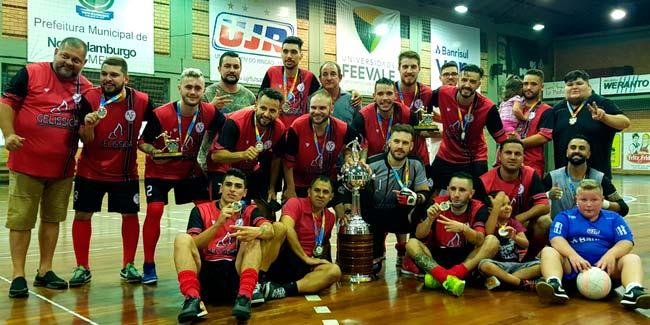 Campeãs da Taça NH de Futsal 1 - Campeãs da Taça NH de Futsal