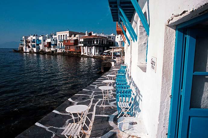 Caprice Bar - Verão europeu: dicas para curtir o melhor de Mykonos