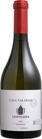 Gran Leopoldina Chardonnay 2013 141x468 - Casa Valduga conquista a 4ª medalha de ouro em premiação europeia