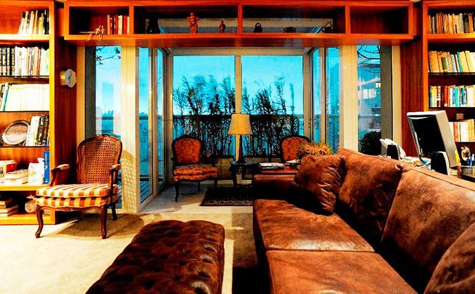 Luiz Paulo Andrade Arquitetos - Outono pede ambientes aconchegantes e tons mais sóbrios
