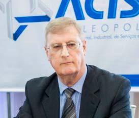 Presidente daACIST SL Oldemar Plantikow Brahm - ACIST-SL solicita ampliação do prazo dos alvarás provisórios