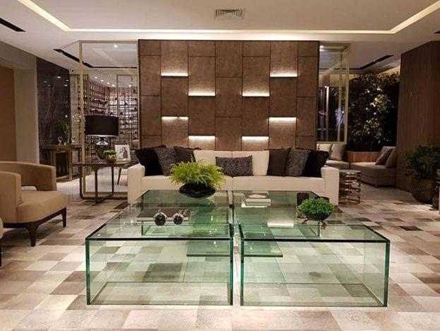 apto3 623x468 - Ambientes integrados e decoração clássica no Alphaville