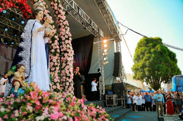 ararangua   governador participa de celebracao religiosa que marca criacao de santuario 3 - Celebração religiosa marca criação de Santuário em Araranguá - SC