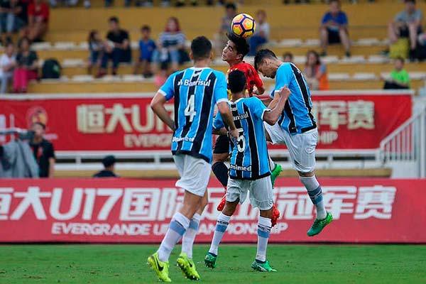 lg noticias gra mio termina evergrande u17 championship 2018 na terceira colocaa a o 2 - Grêmio termina Evergrande U17 Championship 2018 na terceira colocação