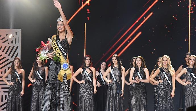 miss final - Amazonense Mayra Dias é a nova Miss Brasil BE Emotion