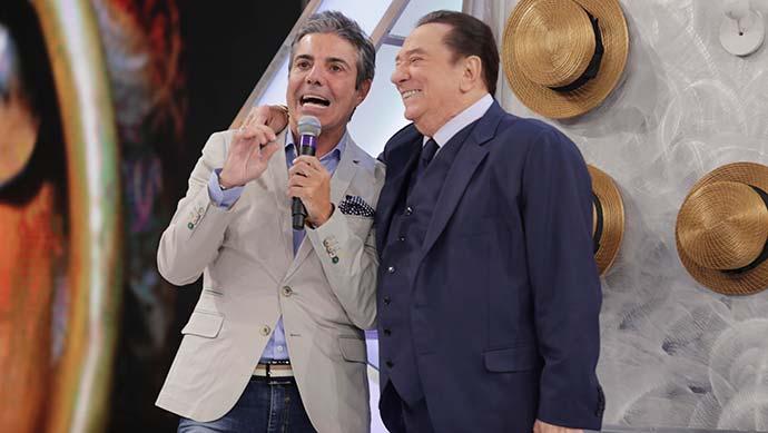 """raul gil - João Kléber e Diogo Nogueira no """"Programa Raul Gil"""" deste sábado (05)"""